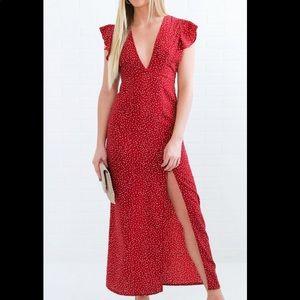Amuse Society maxi dress, size M